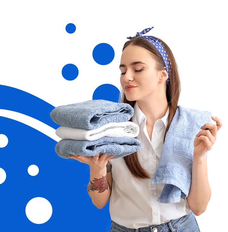 toalhas limpeza